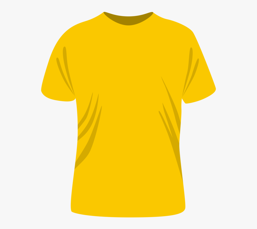 Neck,sleeve,top - Plain Fruit Of The Loom Shirt, Transparent Clipart