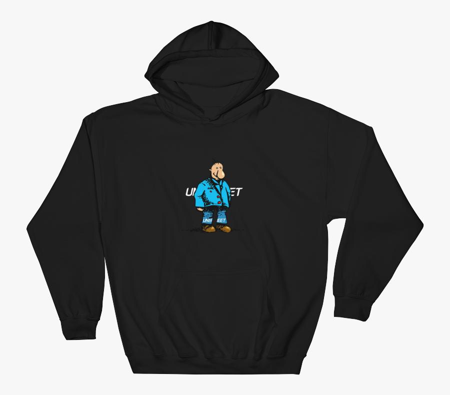 Clip Art Man In Hoodie - Doodle Hoodie, Transparent Clipart