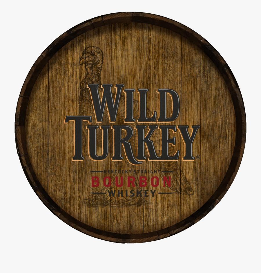 Turkey Clipart Shirt - Wild Turkey Barrel, Transparent Clipart