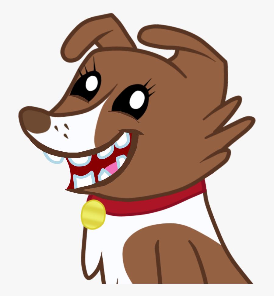Bad Edit, Broken Teeth, Edit, Faic, Safe, Simple Background, - Animated Brown Dog Transparent Background, Transparent Clipart