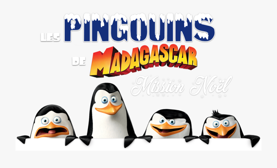 The Madagascar Penguins In A Christmas Caper Image - Penguins Madagascar Png, Transparent Clipart