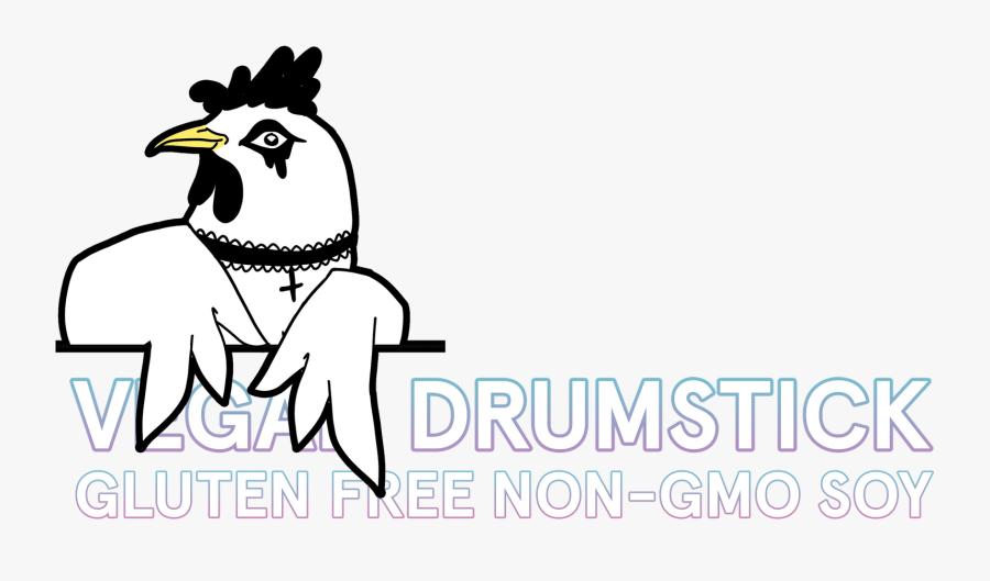 Drumsticks Drawing Cartoon Transparent Png Clipart - Chicken, Transparent Clipart