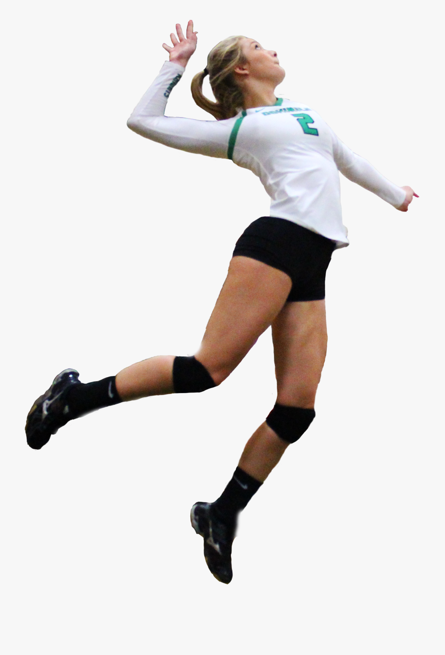 Volleyball Png Images Free Download - Women Volleyball Player Png, Transparent Clipart