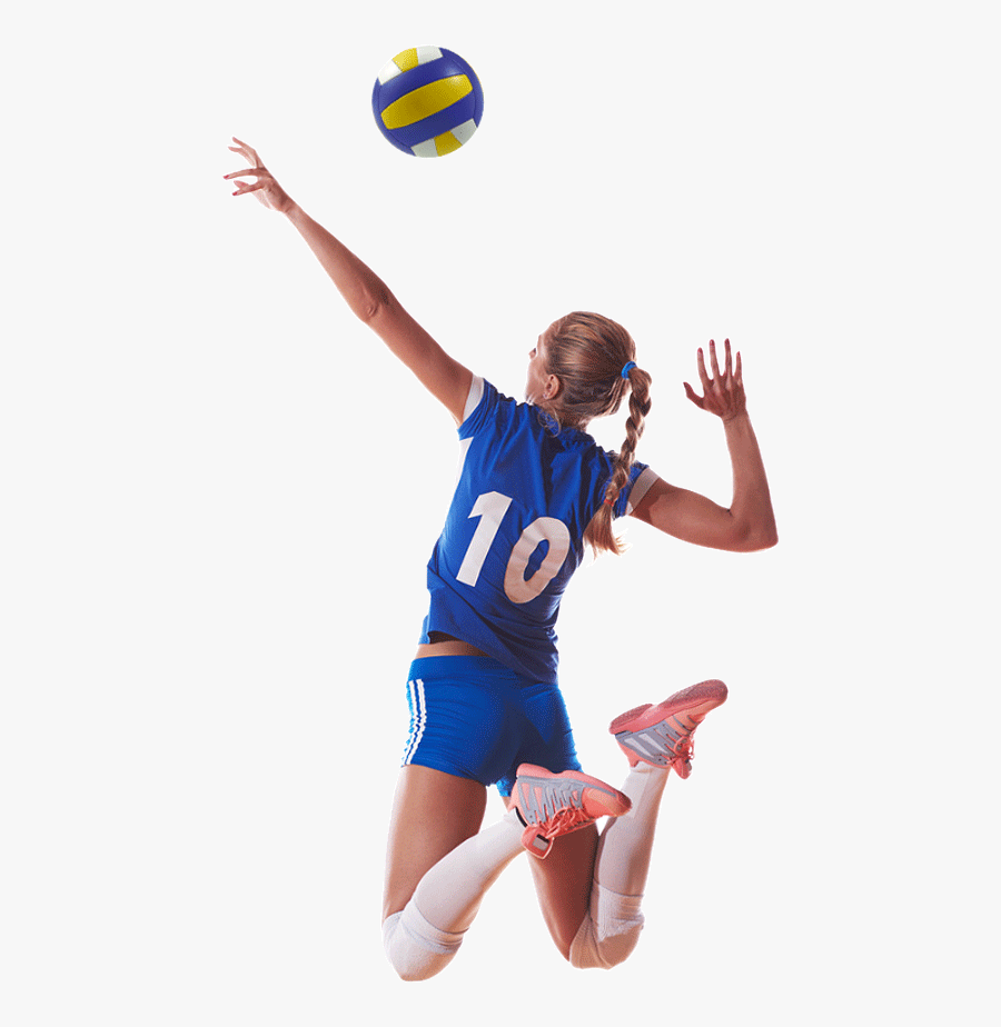 Volleyball Player Png Image - Girl Playing Volleyball Png, Transparent Clipart