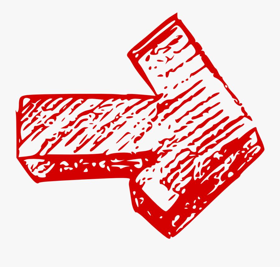 Drawn Arrow Free On - Hand Drawn Draw Arrow Png, Transparent Clipart