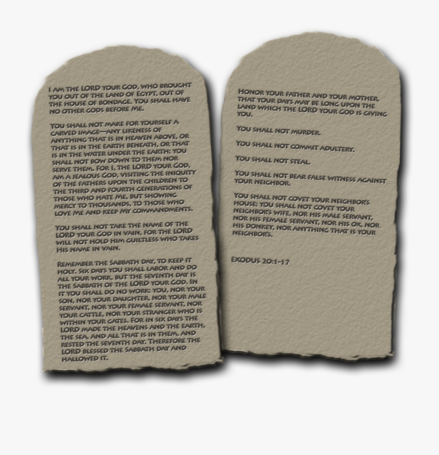 Ten Commandments Png Hd Transparent Ten Commandments, Transparent Clipart