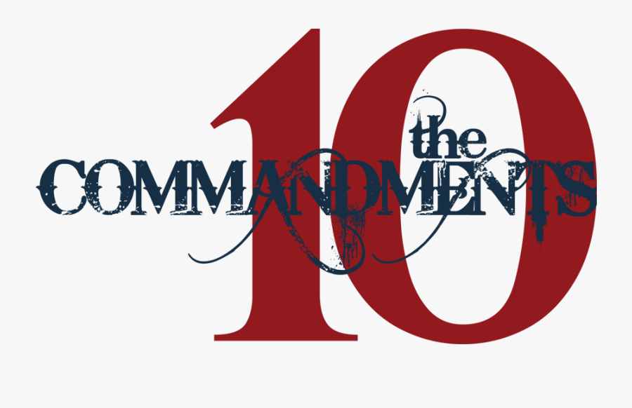 Transparent Commandments Clipart - Rules In Praise And Worship Team, Transparent Clipart