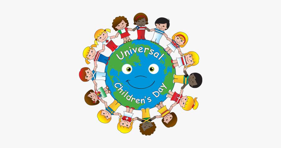 Universal Cliparts - Universal Children's Day, Transparent Clipart
