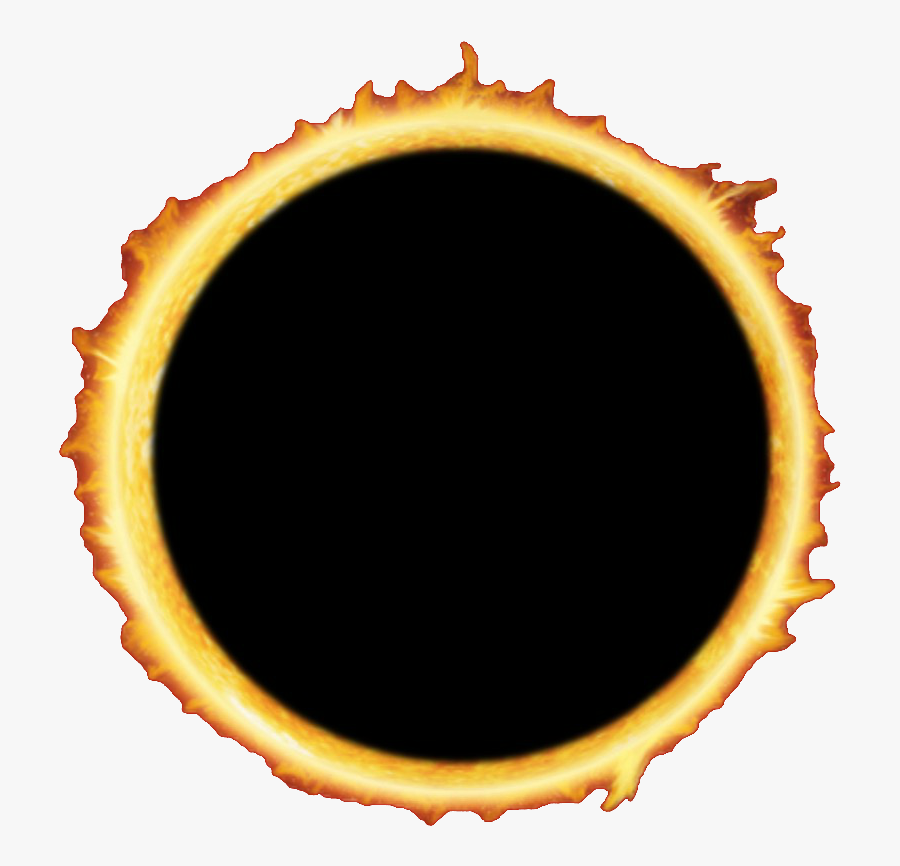 Annual Celestial Overview - Transparent Background Solar Eclipse Transparent, Transparent Clipart