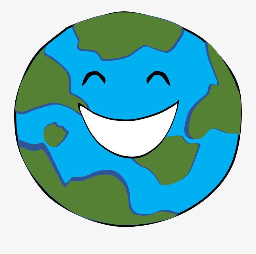 Transparent Happy Clipart - Happy Earth Clipart Png, Transparent Clipart