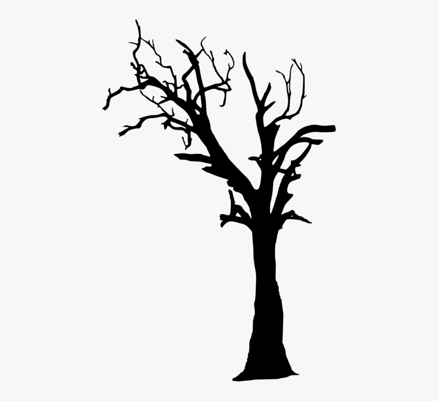 Free Png Dead Tree Silhouette Png Images Transparent - Dead Tree Silhouette Png, Transparent Clipart