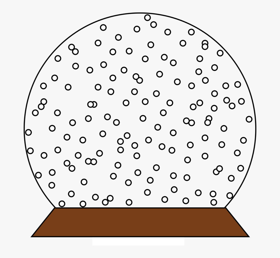 Angle,area,line - Png Transparent Snow Globe, Transparent Clipart