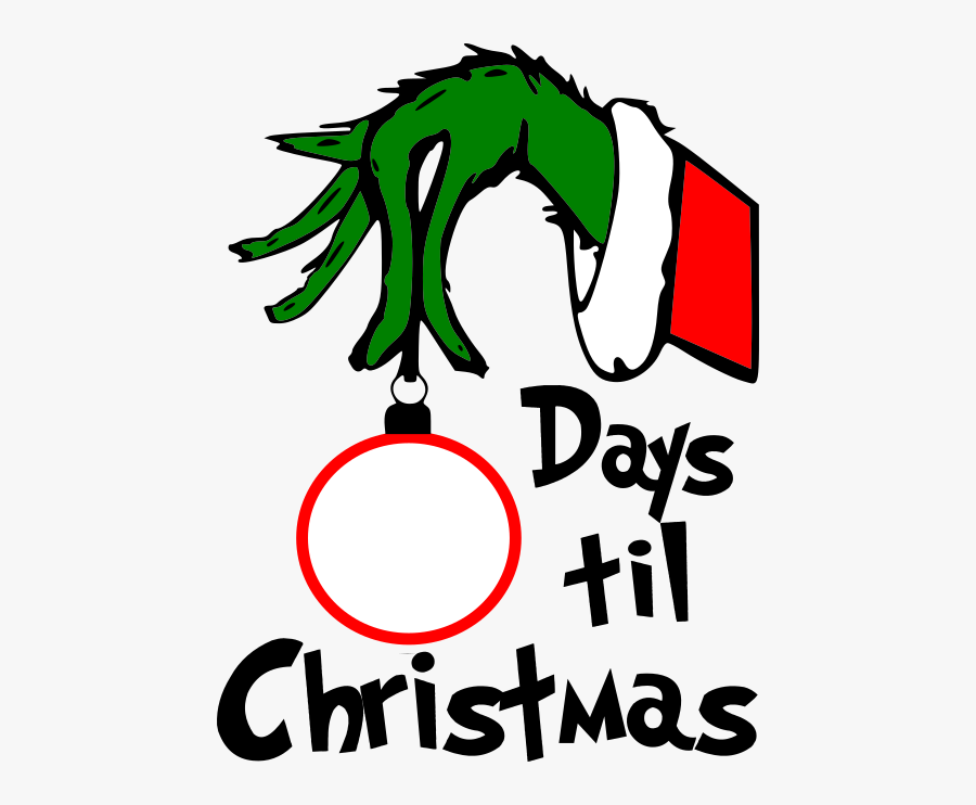 Grinch Countdown To Christmas Svg Free Transparent Clipart Clipartkey Speech balloon comics illustration, cartoon explosion effects border, black and yellow speech balloon template, border, cartoon character, white png. grinch countdown to christmas svg