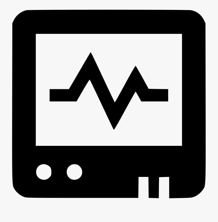 Heart Monitor Pulse Heartbeat Cacrdiology Hospital, Transparent Clipart