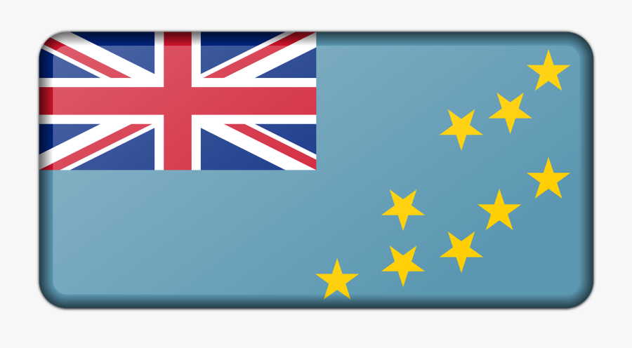 Union Jack With Stars Flag, Transparent Clipart