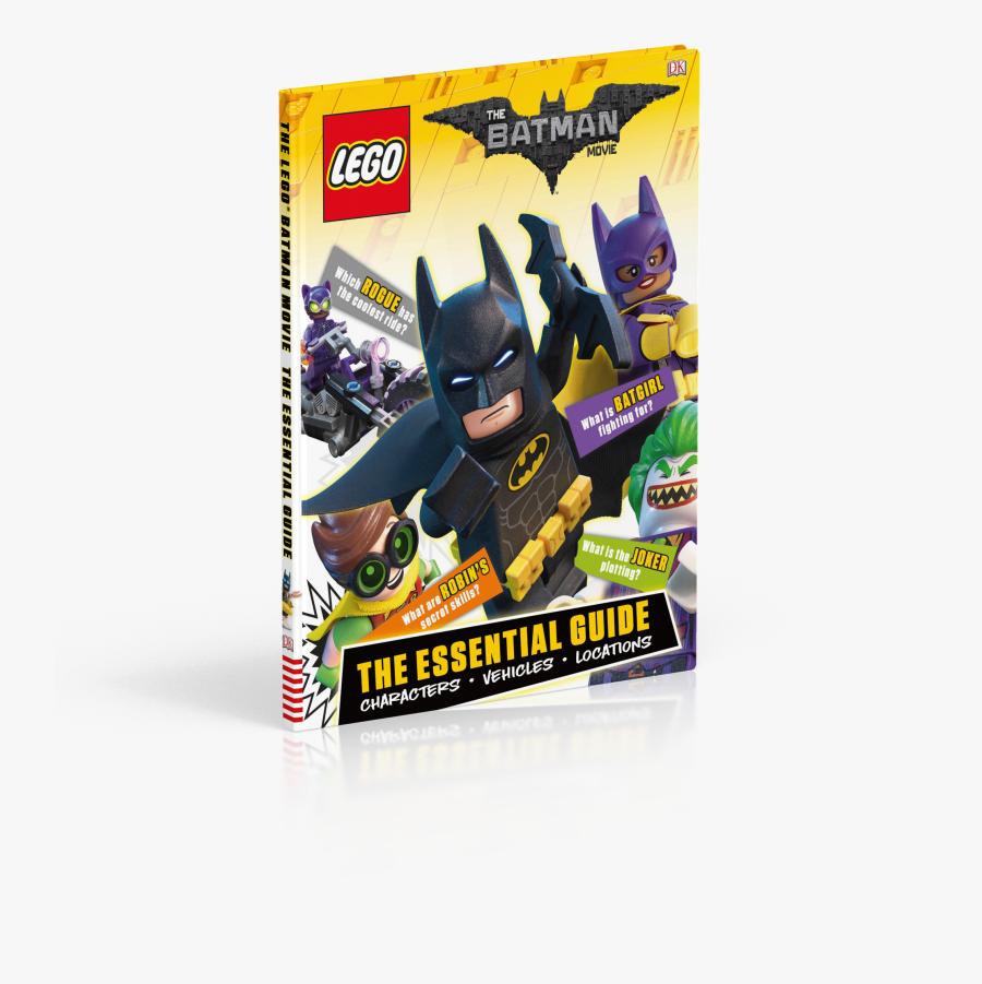 Lego Batman Movie The Essential Guide - Lego Batman Movie Book, Transparent Clipart