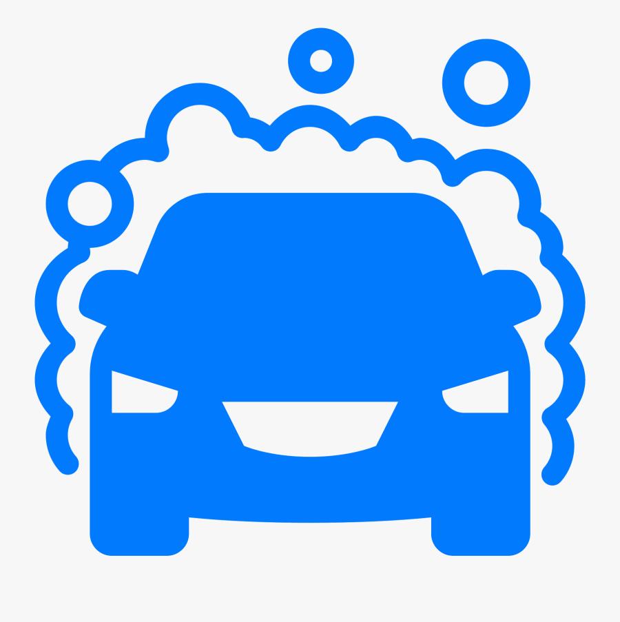Car Wash Auto Detailing Computer Icons Clip Art - Black Car Wash Clipart, Transparent Clipart