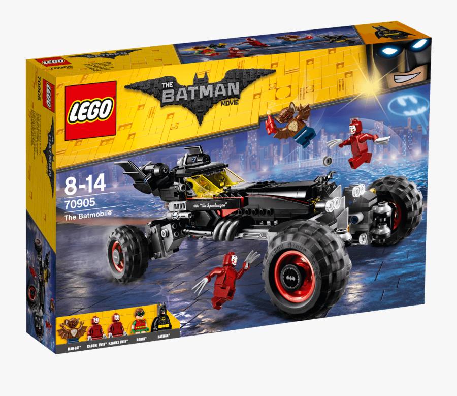 Transparent Batmobile Clipart - Lego Batman Lego 70905, Transparent Clipart