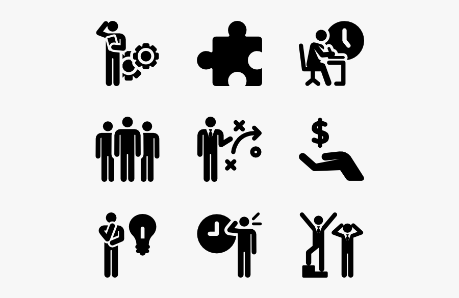 Pictograms Family Fill Vector - Skills Icon For Resume, Transparent Clipart