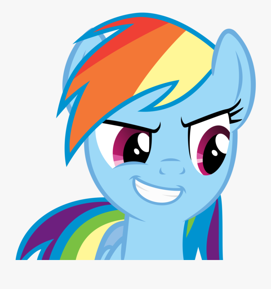 What Is The Best - My Little Pony Rainbow Dash Face, Transparent Clipart