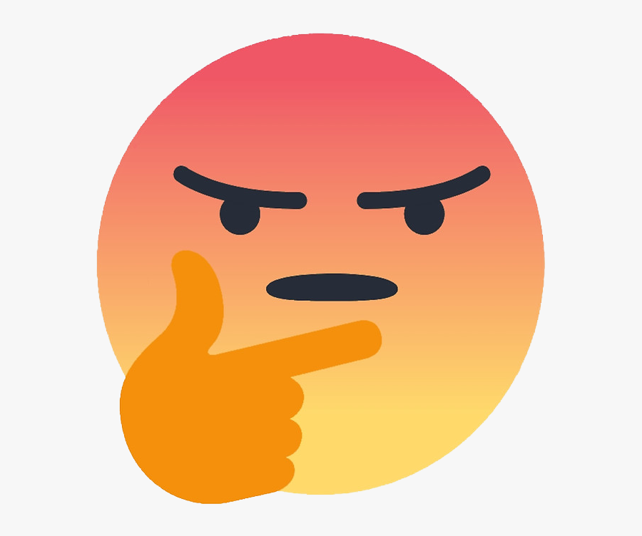 Frostbite A Year Ago - Facebook Angry Emoji Meme, Transparent Clipart
