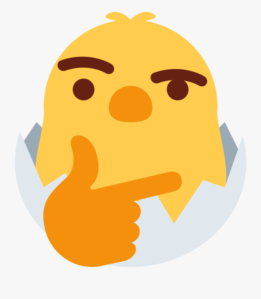 Emoji Clipart Chicken - Discord Emoji, Transparent Clipart