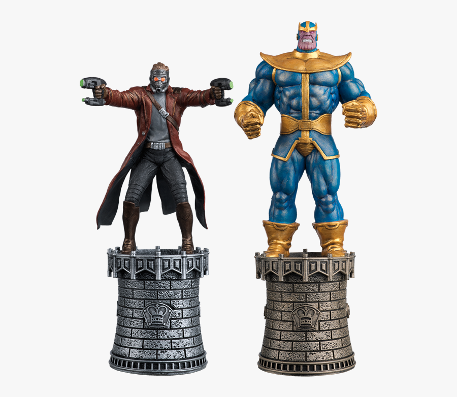 Transparent Marvel Characters Png - Eaglemoss Chess Marvel, Transparent Clipart