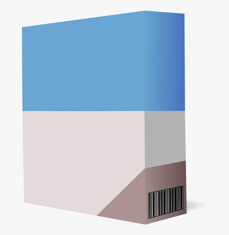 Software Box 1 - Software Box Clip Art, Transparent Clipart