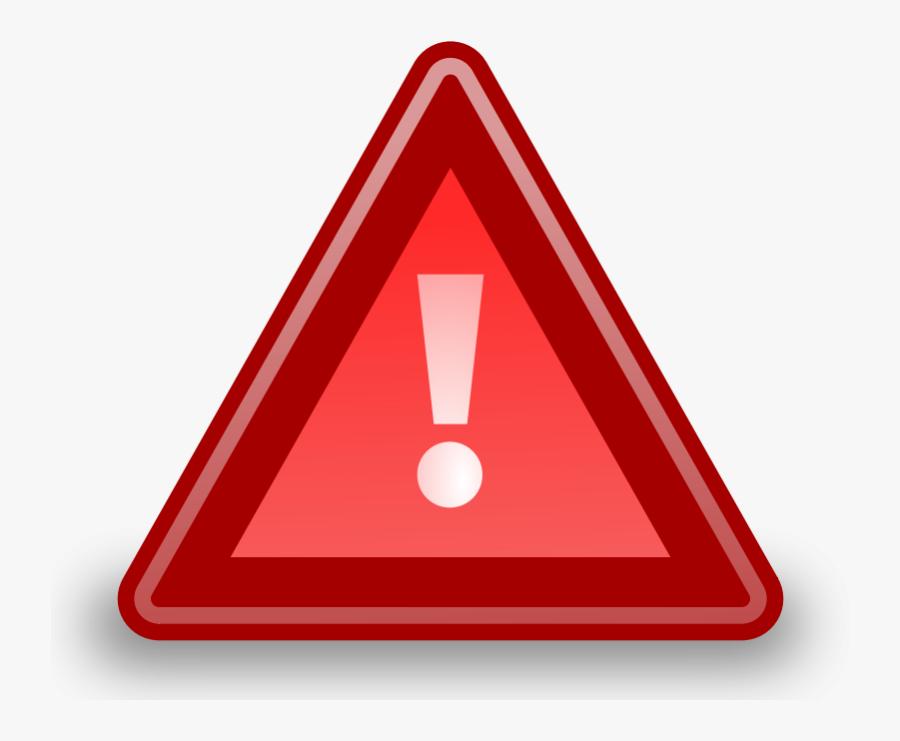 Tango Software Update Urgent - Urgent Icon, Transparent Clipart