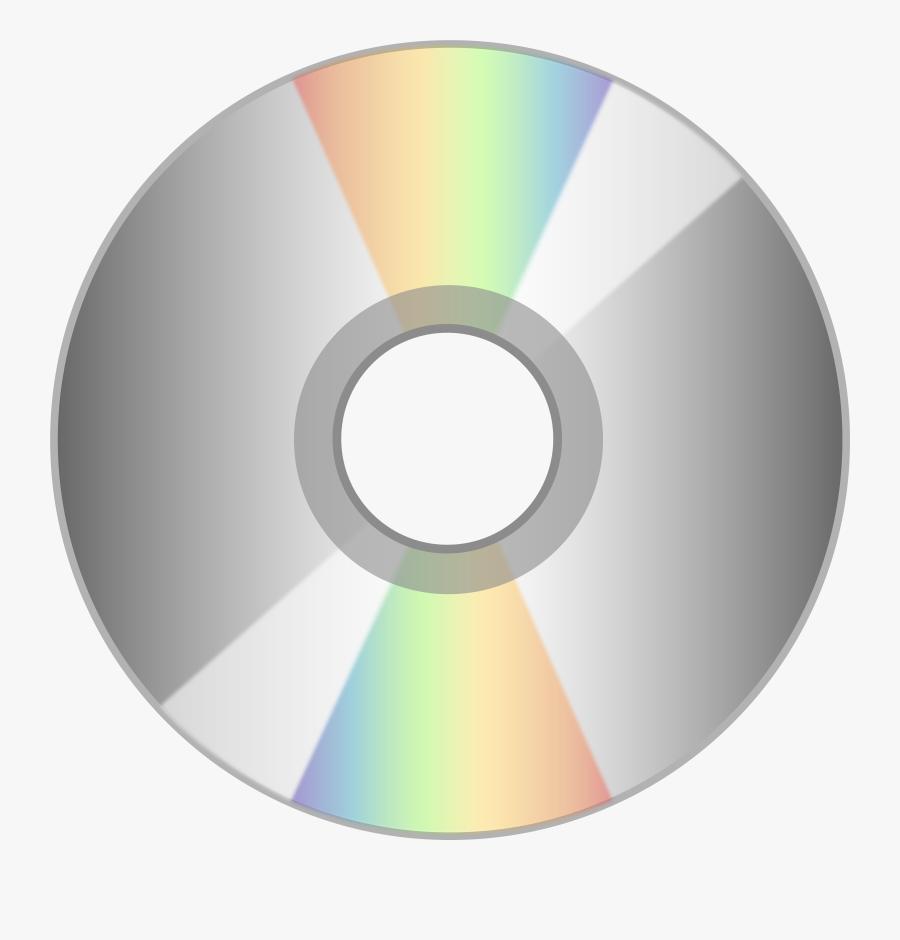 Compact Disk Clipart Software - Disc Png, Transparent Clipart