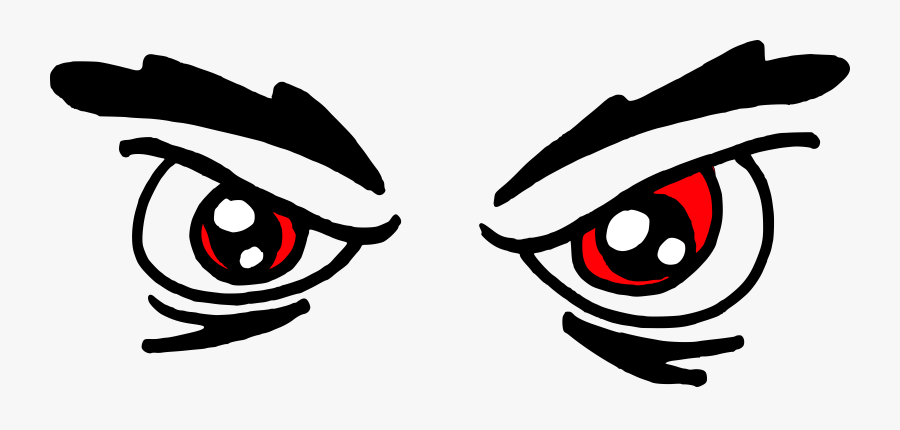 Angry Eyes Clipart Free Transparent Clipart Clipartkey