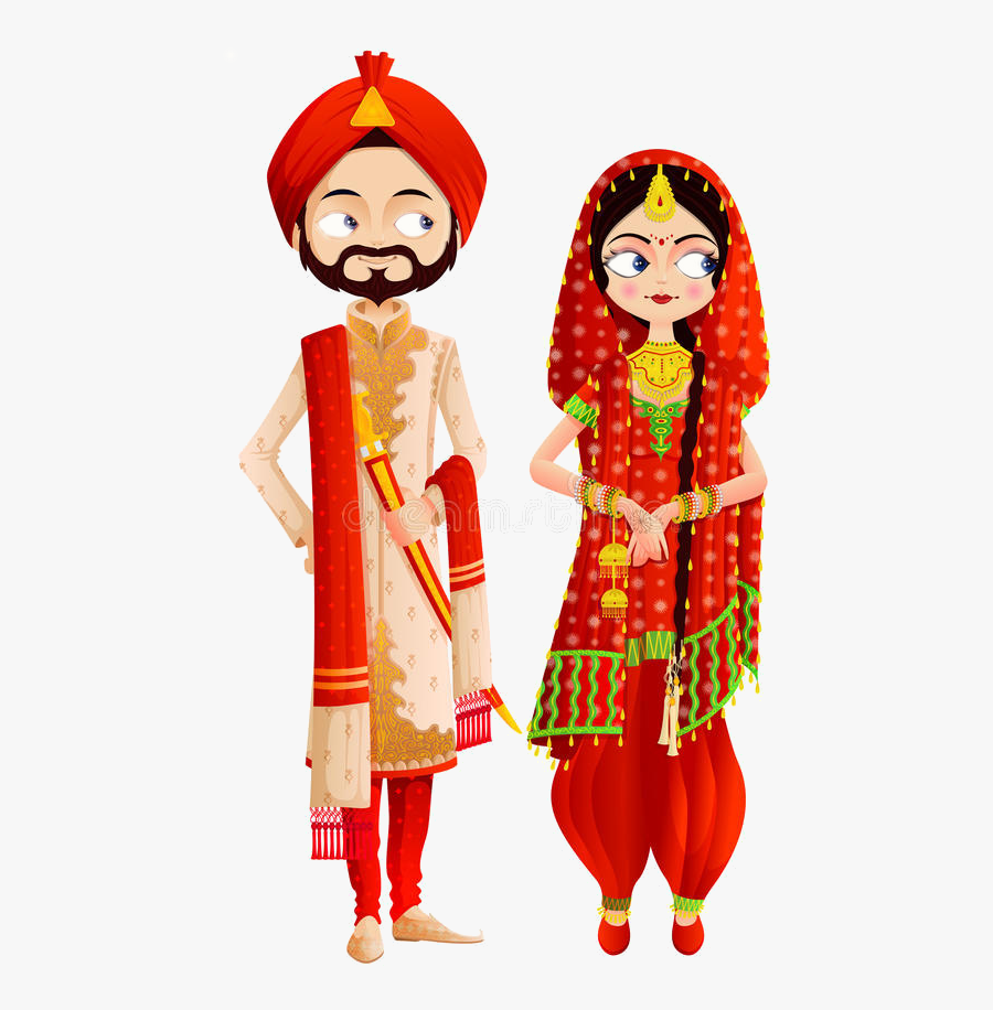Happy Wedding Anniversary Punjabi Free Transparent Clipart Clipartkey