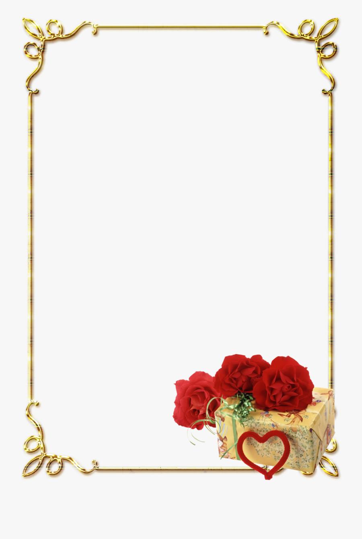 Transparent Border Design Clipart - Frames Png For Photoshop, Transparent Clipart