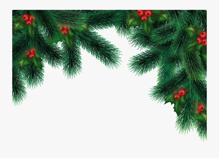 Transparent Evergreen Tree Clipart Black And White - Transparent Background Christmas Png, Transparent Clipart