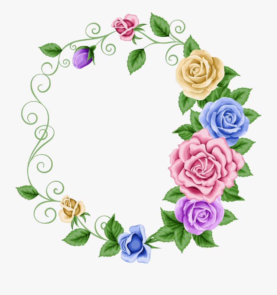 #borders #frames #frame #border #floral #flowers #flower - Beautiful Borders & Frames, Transparent Clipart
