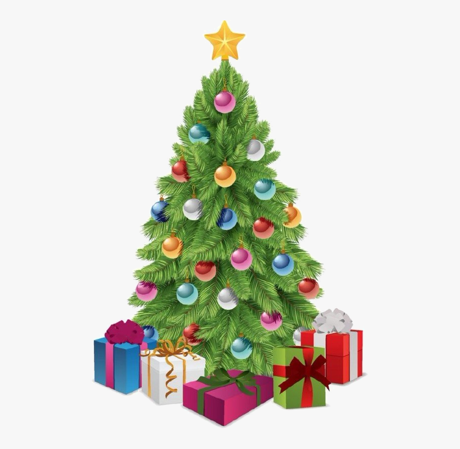 Transparent Christmas Trees Clipart Free - Transparent Christmas Tree Png, Transparent Clipart