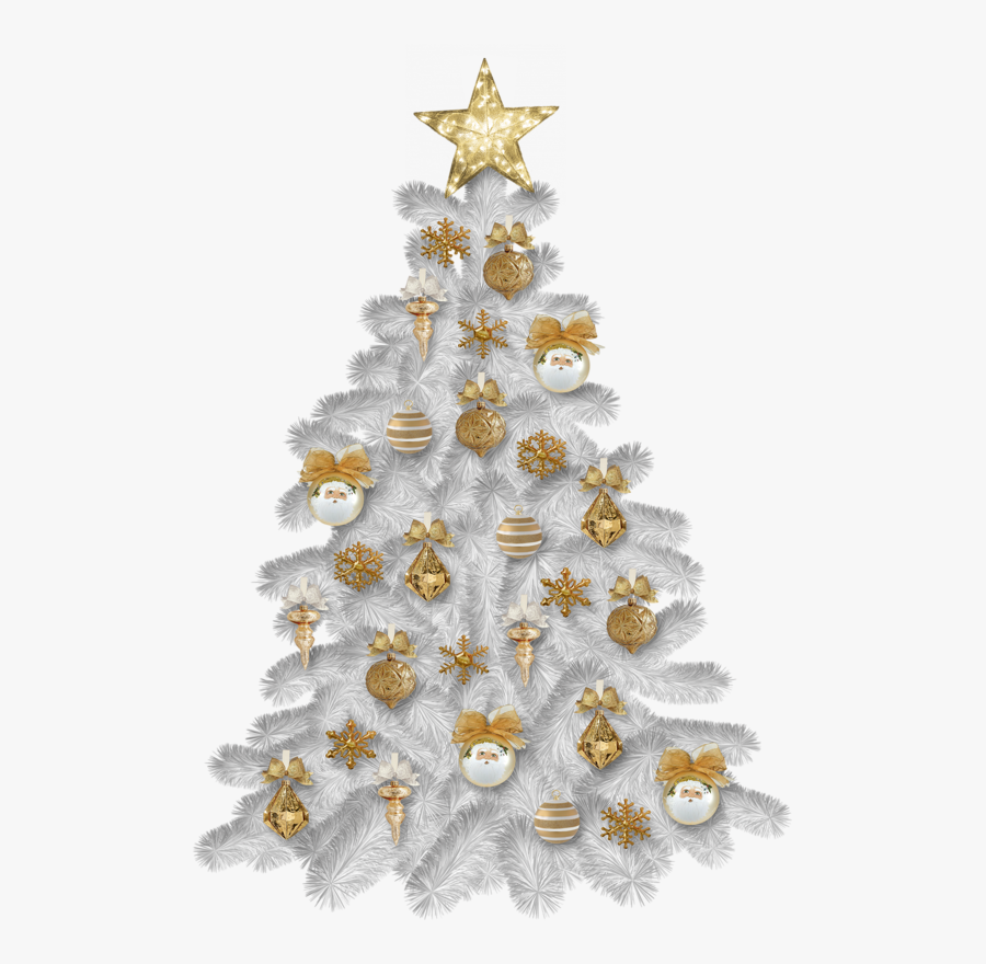 Png Tubes White Christmas, Transparent Clipart