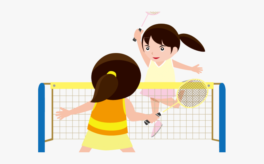 Image Royalty Free Library Badminton Badmitton Free - Playing Badminton Clipart Png, Transparent Clipart