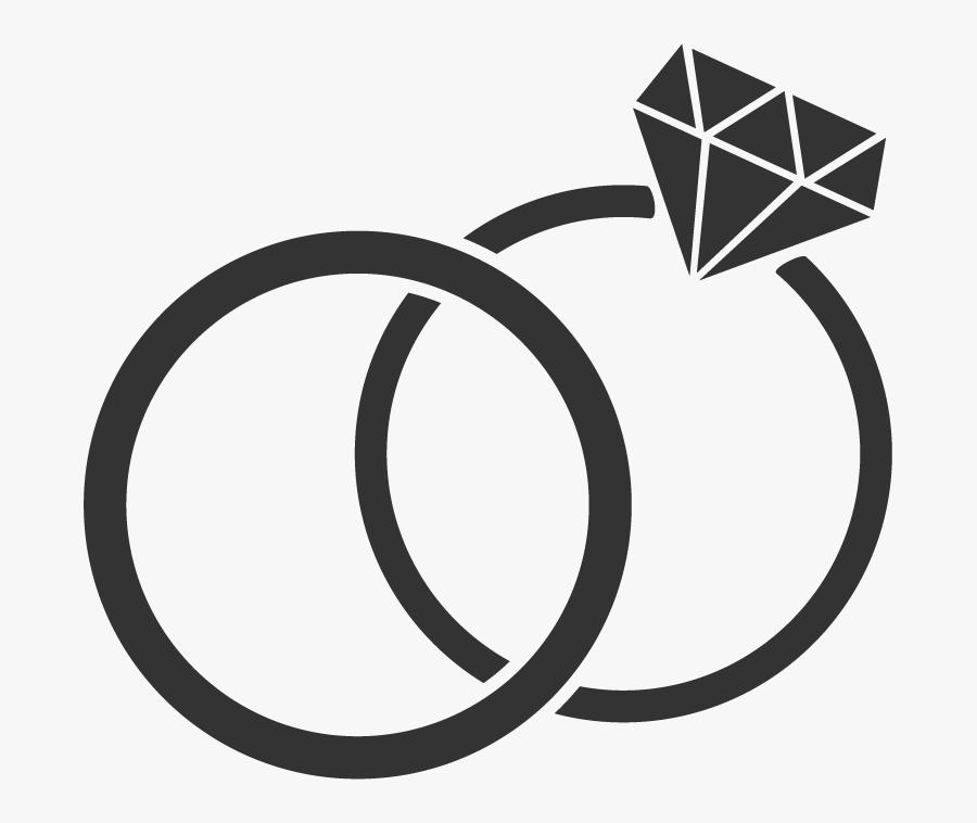Weddings - Diamond Wedding Ring Clipart Png , Free Transparent