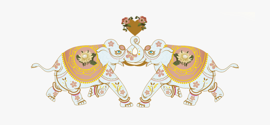 Wedding Elephant Png, Transparent Clipart