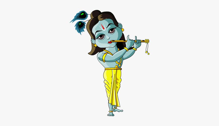 Cartoon Krishna Images Png, Transparent Clipart