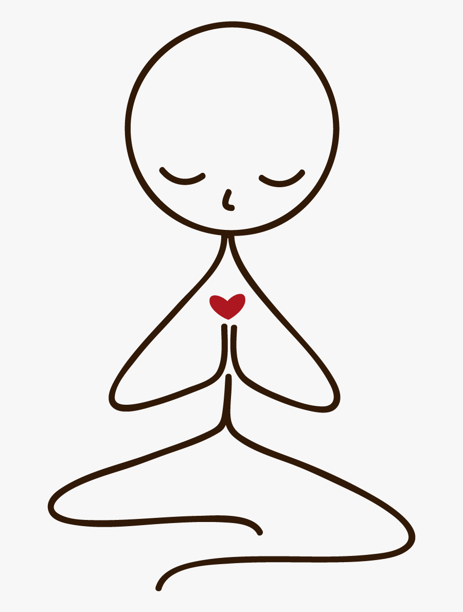 Transparent Spiritual Clipart Yoga Day Drawing Easy Free Transparent Clipart Clipartkey