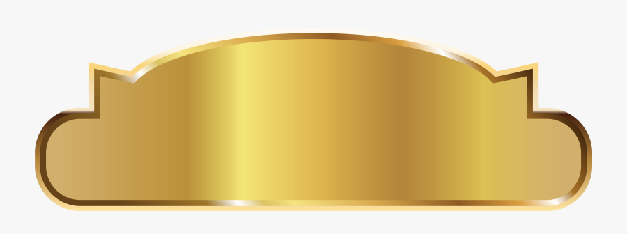 Gold Png Image - Golden Label Png, Transparent Clipart