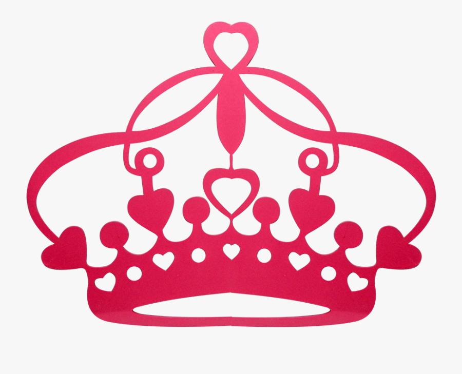 Coroa Princess Aurora Party, Crown Template, Vinyl - Coroa Com Coração Png, Transparent Clipart