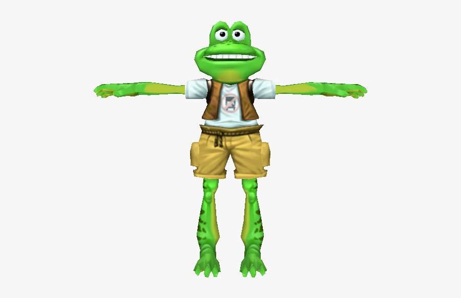 Character,action Figure,frog,clip Art,amphibian,tree - Toad, Transparent Clipart