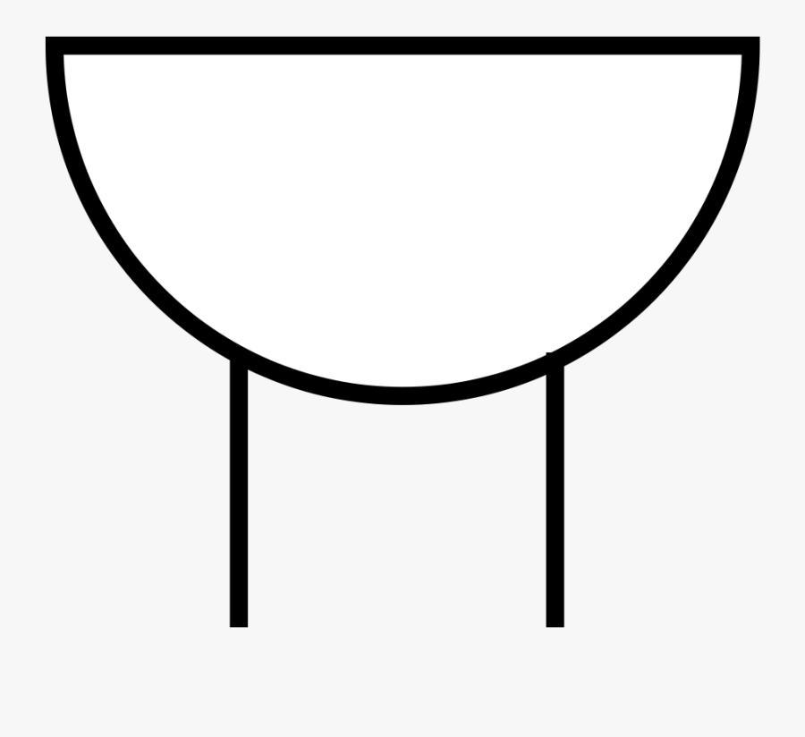 Line Art,angle,area - Buzzer Symbols, Transparent Clipart