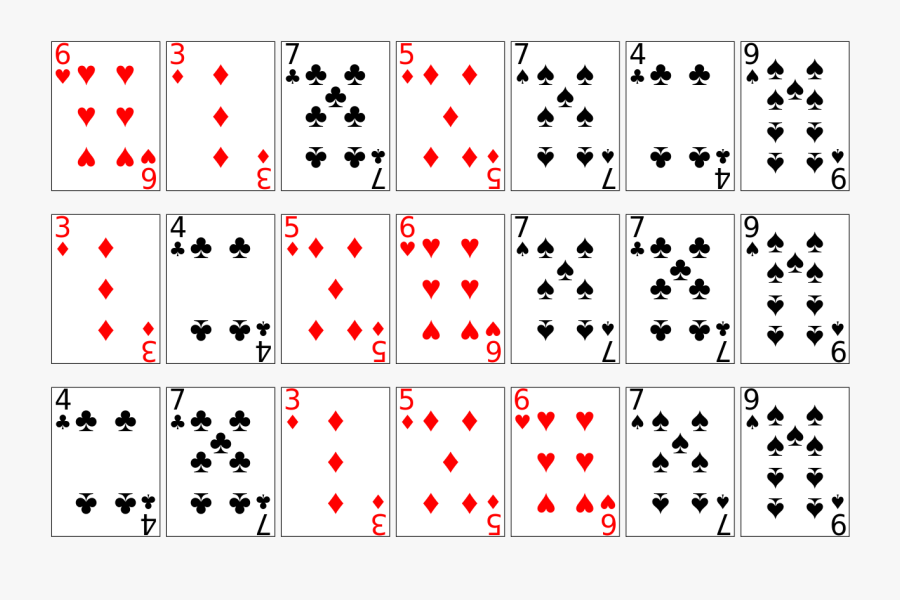 Deck Of Playing Cards Print Out, Transparent Clipart