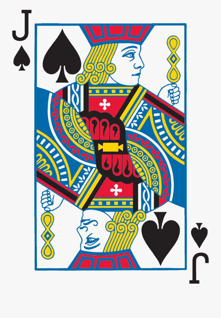 Skat Playing Standard Suit - King Of Spades Bicycle, Transparent Clipart