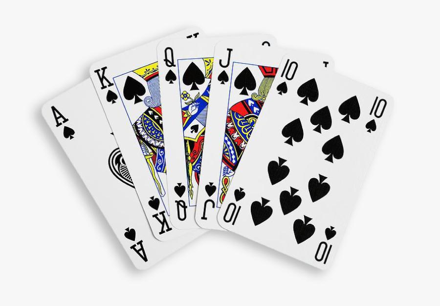 Clip Art Transparent Playing For - Transparent Background Playing Cards Png, Transparent Clipart