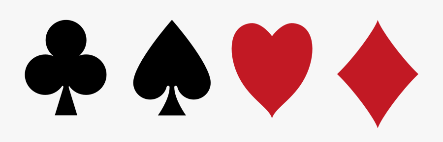 Playing Card Logo Png Poker Card Symbols Png Free Transparent Clipart Clipartkey